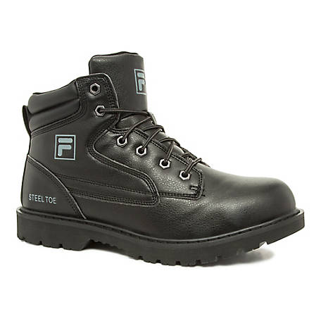 Fila Men's Landing Steel Toe Boot, 1SH40153-001