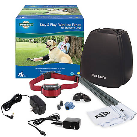 PetSafe Stay Play Wireless Fence for Stubborn Dogs, PIF00-13663