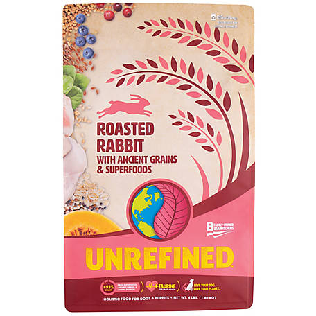 Earthborn Holistic 5 lb. Ancient Grains and Superfoods, Roasted Rabit, 1710479, 4 lb.