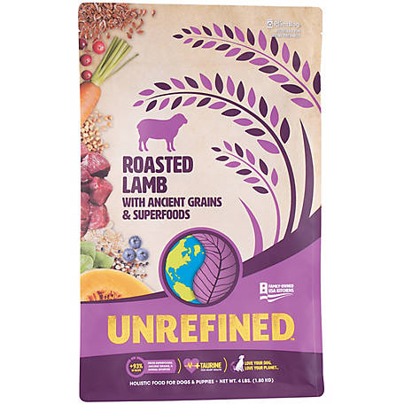 Earthborn Holistic 5 lb. Ancient Grains and Superfoods, Roasted Lamb, 1710489, 4 lb.