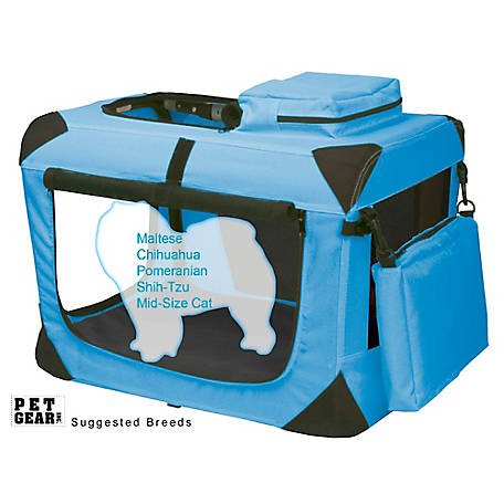 Pet Gear Inc. Generation II Deluxe Portable Soft Crate, PG5521OB