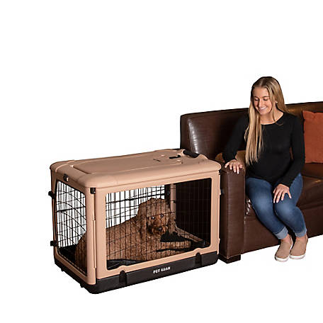 Pet Gear Inc. The Other Door Steel Crate, 36 in., PG5936TN