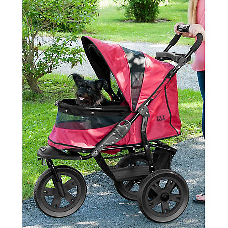 Pet Gear Inc. At3 No-Zip Stroller, Rugged Red, PG8350NZRR