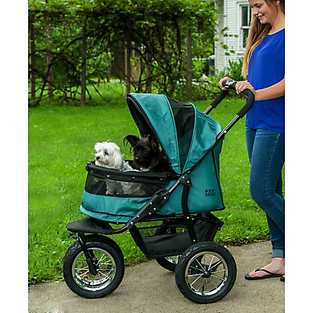 Pet Gear Inc. No-Zip Double Pet Stroller, PG8700NZPG