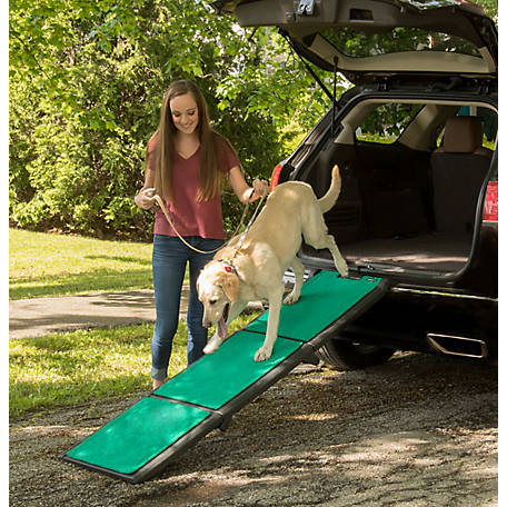 Pet Gear Inc. Tri-Fold Pet Ramp with SupertraX, PG9300GRSX
