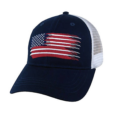 Tractor Supply American Flag Stitch Cap