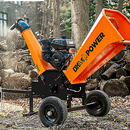 DK2 Power DK2 6 in. 14HP Cyclonic Chipper Shredder with KOHLER CH440 Command PRO Commercial Gas Engine -OPC506