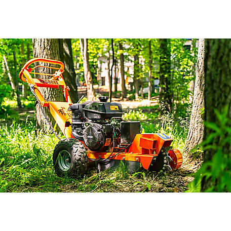 DK2 Power 14 x 4 in. wide 14HP Electric Start Stump Grinder with KOHLER Command Pro gas Engine, OPG888E