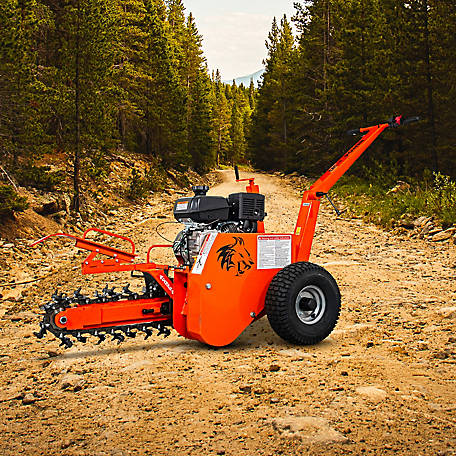 DK2 Power 18 in. 7 HP Trencher with KOHLER CH270 Command PRO gas Engine-, OPT118