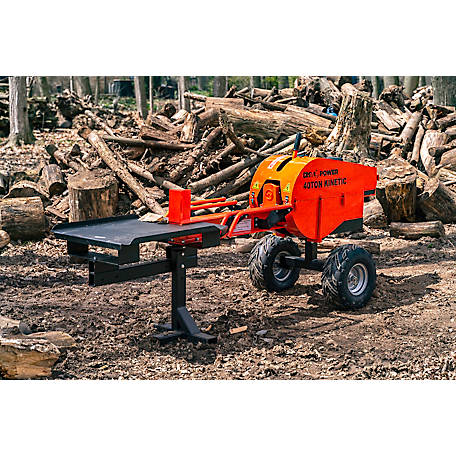 DK2 Power 40 Ton Kinetic Log Splitter with 7 HP KOHLER Command PRO gas Engine, OPS240