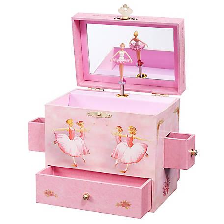 Enchantmints Enchantmints Ballerina Music & Treasure Box, B1018