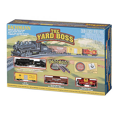 Bachmann Trains N Scale Yard Boss Ready To Run Electric Train Set, 24014
