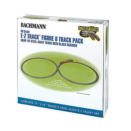 Bachmann Trains HO Scale E-Z Track Figure 8 Track Pack, 44487