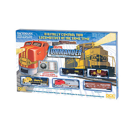 Bachmann Trains Ho Scale Digital Commander Santa Fe W Gp40 Ft Diesel Ready To Run Electric Locomotive Train Set 501 At Tractor Supply Co