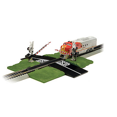 Bachmann Trains HO Scale E-Z Track Crossing Gate Train Track Accessory, 44579