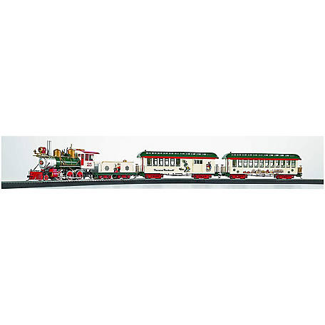 Bachmann Trains Bachmann Trains On30 Scale Norman Rockwell's American Christmas Ready To Run Electric Train Set, 25023