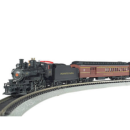 Bachmann Trains N Scale The Broadway Limited Ready to Run Electric Train Set, 24026