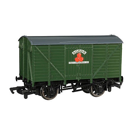 Bachmann Trains Bachmann Trains HO Scale Ventilated Van - Sodor Fruit & Vegtable Co. Train, 77012