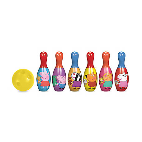 What Kids Want Disney Jr. Peppa Pig Bowling Set - Indoor/Outdoor, 26135