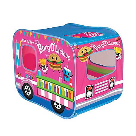 Banzai My Little Food Truck Play Tent, 75038FR