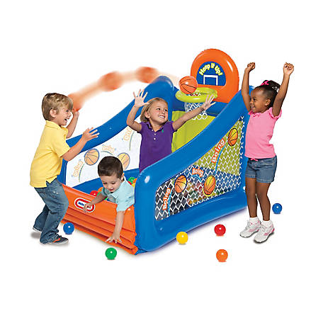 Little Tikes Hoop It Up! Play Center Ball Pit, 9385