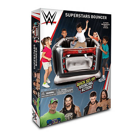 Better Sourcing WWE Superstars Inflatable Bouncer Ring, 5304