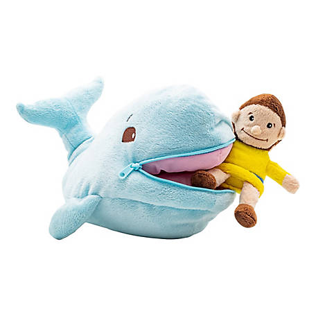 BibleToys Plush Jonah and Fish (Whale), CGD8612