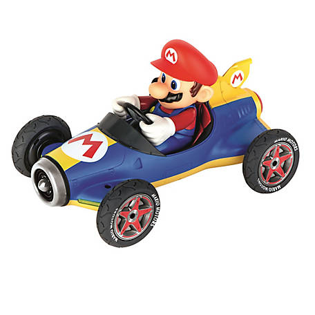 Carrera Carrera RC 2.4GHz Mario Kart Mach 8, Mario 1:18 Scale Radio Controlled Kart (RC), 370181066
