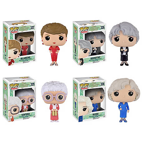 Funko Golden Girls: POP! TV Collectors Set; Sophia, Rose, Blanche, Dorothy, G847944001461