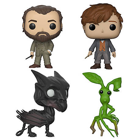 Funko POP! Movies Fantastic Beasts 2 Collectors Set - Dumbledore, Newt withchase, Thestral, Picket, G847944002826