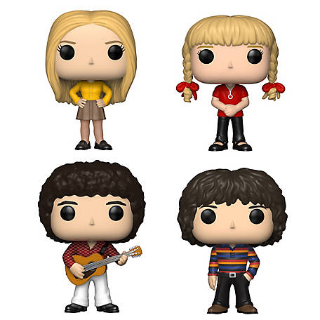 Funko POP! TV The Brady Bunch Collectors Set - Marcia Brady, Cindy Brady, Greg Brady, Peter Brady, G847944002833