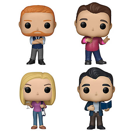 Funko POP! TV Modern Family Collectors Set - Mitch, Cam, Claire, Phil, G847944003182