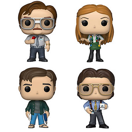 Funko POP! Movies Office Space Collectors Set - Milton Waddams, Joanna with Flair, Peter Gibbons, Bill Lumbergh, G847944003328