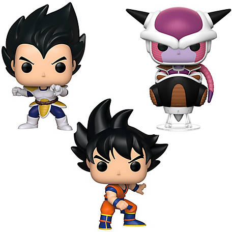 Funko POP! Animation Dragon Ball Z Series 6 Collectors Set - Vegeta, Goku, Frieza, G847944003359