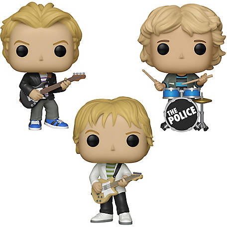 Funko POP! Rocks The Police Collectors Set - Sting, Andy Summers, Stewart Copeland, G847944003670