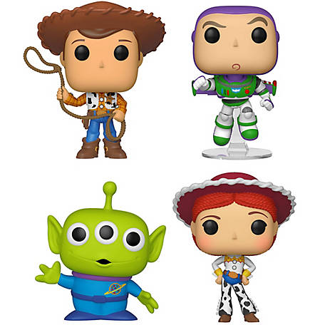 Funko POP! Disney Toy Story 4 Collectors Set 1 - Sheriff Woody, Buzz Lightyear, Alien, Jessie, G847944003717
