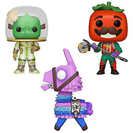 Funko POP! Games Fortnite Series 3 Collectors Set - Loot Llama, Tomatohead, Leviathan, G847944003724