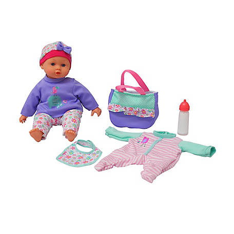 Dream Collection 14 inch Baby Doll Gift Set with Accessories, 17237