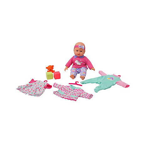 Dream Collection 14 in. My LiL Wardrobe Baby Doll Set, 17230