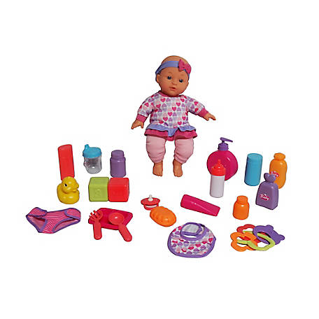 Dream Collection 12 in. Baby Doll Care Set, 17234