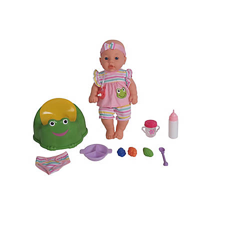 Dream Collection 16 in. Pretend Play Baby Doll Care Set with Potty & Accessories, 18240