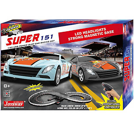 JOYSWAY Super 151 Slot Car Racing Set, 2151