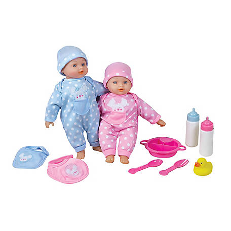 Lissi 11 in. Twin Baby Dolls, 51322