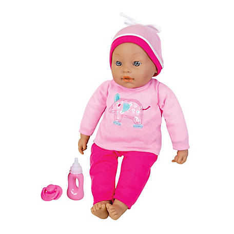 Lissi 16 in. Interactive Baby Doll with Accessories, 90300