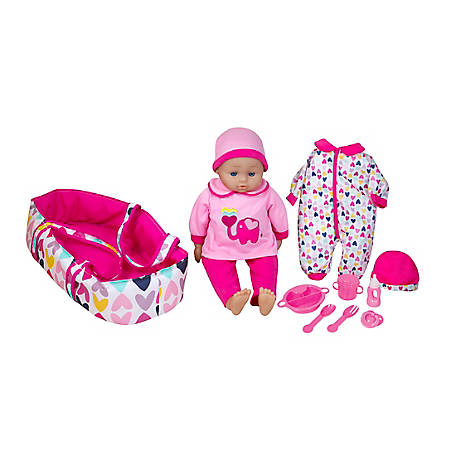 Lissi 16 in. Talking Baby Doll with Accessories, 94388