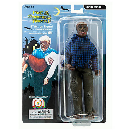 Mego Action Figure, 8 in. The Wolfman, B&W (Limited Edition Collector's Item), 62701