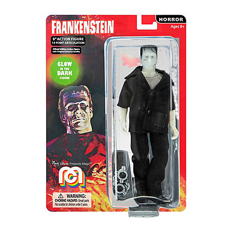 Mego Action Figure, 8 in. Frankenstein, B&W (Limited Edition Collector's Item), 62799