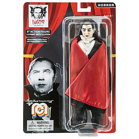Mego Action Figure, 8 in. Dracula with Red Cape (Limited Edition Collector's Item), 62801