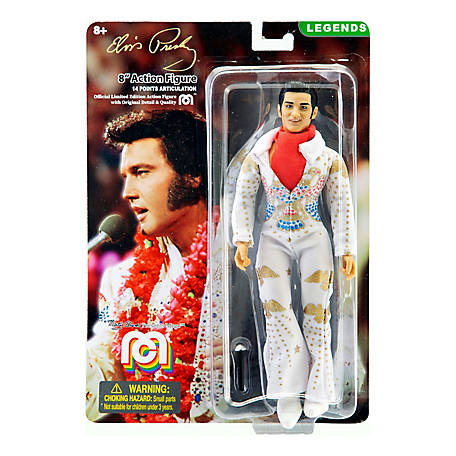 Mego Action Figure, 8 in. Elvis with Aloha Jumpsuit (Limited Edition Collector's Item), 62878