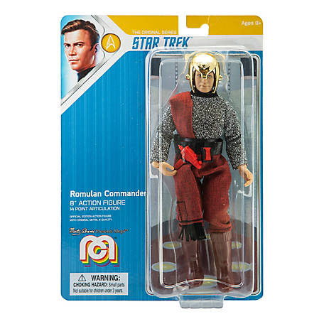 Mego Action Figure, 8 in. Star Trek - Romulan Commander (Limited Edition Collector's Item), 62797